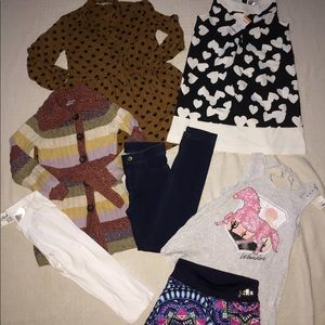 NWT Girls 7-9 Lot Gymboree Justice H&M